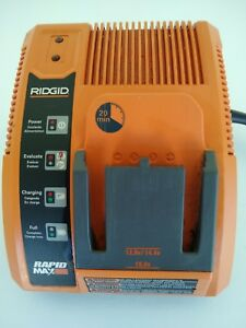 Ridgid 140276001 Battery Charger Rapid Max 12V 14.4V 18V Fast