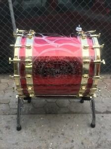 TAMBORA GLEZZ 24 X 24 para Banda sinaloense (available in colors of your choice)