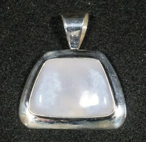 Sterling Silver Pendant with Moonstone 2 14