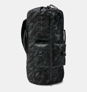 Under Armour Project Rock 60 Duffle Bag Back Pack Veterans Day In Hand