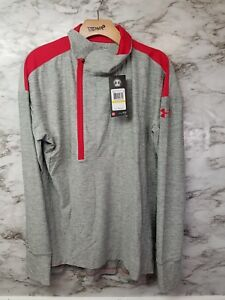 Under Armour Womens Loose Fit Active Top Pullover Sweater New With Tags 59$ Gray