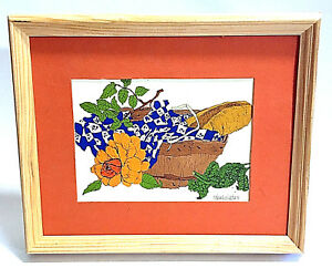 Wendy Wheeler Signed Lithograph Print 1976 The Harvest Mouse 60GG16 Portal Pub