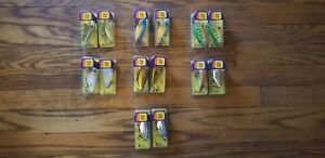 Brad's Thin Fish lures (LOT OF 14)