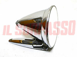 REAR-VIEW MIRROR SPORT BULLET NOSE 60'S70 FIAT 850 124 SPORT FULVIA ETC.