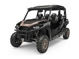 2019 Polaris® General® 4 1000 Ride Command Edition Black Pearl Black Pearl with