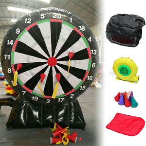 4M13ft High Giant Inflatable Dart Board with Air Blower Throw Game 220V