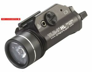 Mount Tactical Flashlight Light 800 Lumens with Strobe - 800 Lumens