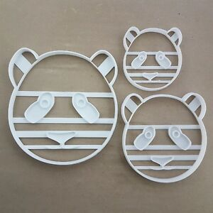 Giant Panda Bear China Shape Cookie Cutter Dough Biscuit Pastry Fondant Stamp