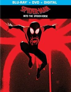 Spider-Man: Into the Spider-Verse [SteelBook] (Blu-ray + DVD + Digital)