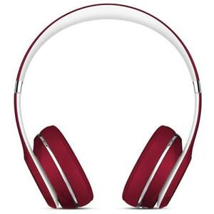 Solo2 OverEar Headphones Wired On-Ear Headphone Luxe Edition Red Home Audio