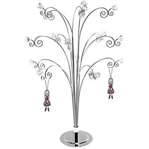 HOHIYA Jewelry Necklace Stand Holder Organizer Tower Tree Display Necklaces With