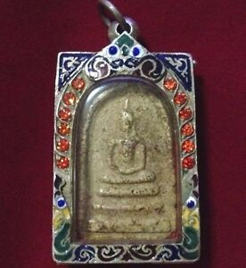 Amulet Buddha Holy Successful. Phra Somdej Wat Rakang Made By Somdej Toh.