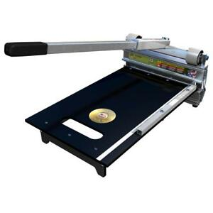 13 in. EZ Shear Laminate Flooring Cutter for Laminate Vinyl Rubber and More