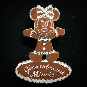 LE 100 Minnie Gingerbread Man Cookie Christmas Holiday Disney Auctions Pin 26980