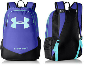 Under Armour Boys UA Storm Scrimmage Backpack 1277422 Purple (530)Blue Infinity
