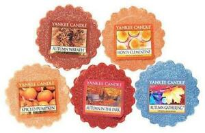 NEW Fall Favorites Tarts Wax Melts Collection Gift Set 10 pack by Yankee Candle