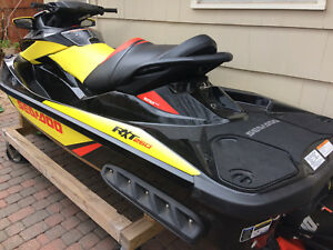 2015 Sea Doo RXT 260 HULL brand new with seat jet ski blackyellow and red  NICE