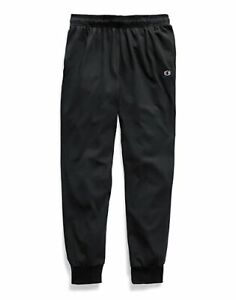 Champion Sweatpants Men#x27;s Jersey Joggers Side Pockets Comfortable Athletic Fit