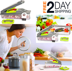 Strongest Onion Chopper Pro Vegetable Chopper By Mueller Multi Vegetable Cutter
