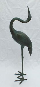 Sculpture Bronze Stork by Valenti.