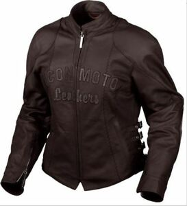 Icon Bombshell Lady Jacket Jackets Leather Black Icon Motorcycle Womens Sz L