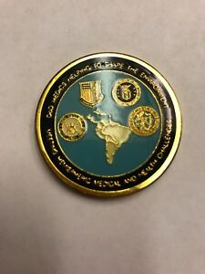 Command Surgeon US Southern Command Challenge Coin.  Collectors Item!
