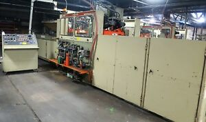 Brown Model SR-3036 In Line Thermoforming Plastic Packing Machine