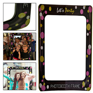 Selfie Prop Photo Booth Frame Let's Party Theme For Wedding Birthday New year