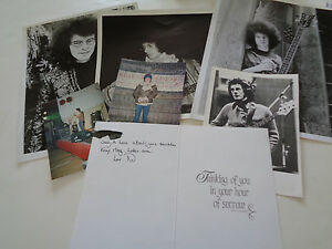 JIMI HENDRIX EXP NOEL REDDING AUTOGRAPH   SIGNED LETTER AND RARE
