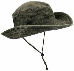 Outdoor Summer Boonie Hat for Hiking Camping Fishing Operator Floppy
