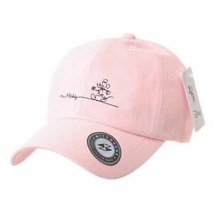 WITHMOONS Disney Mickey Mouse Embroidery Soft Cotton Baseball Cap CR1805