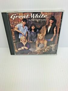 Great White ‎In The Light (Live) Promo Single CD Very RARE HTF ColumbiaPortrait