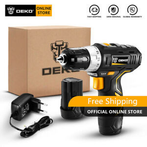 12V Household Lithium Battery Cordless Drill Driver Power Drill Electric Drill