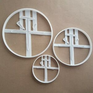 Chinese Peace Symbol Word Shape Cookie Cutter Dough Biscuit Pastry Fondant Stamp