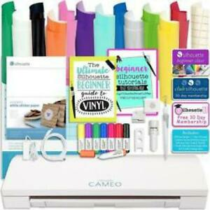 Vinyl Cutter Machine With Software Cutting Tool Sketch Pens Sticker Paper Books