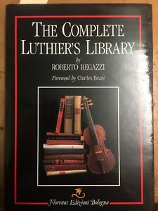 The Complete Luthiers Library by Roberto Regazzi 1st edition numbered signed