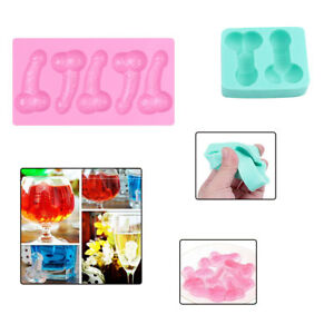 Penis Shape Silicone Candy Cake Pan Chocolate Making Mold for Party Favors Gift