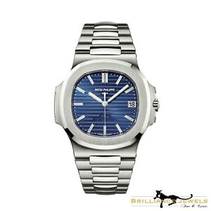 NEW PATEK PHILIPPE Nautilus 57111P-001 40th Anniversary PLATINUM Watch W-190
