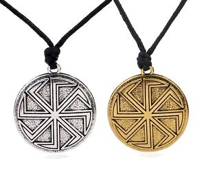 Early Slavs Little Sun Slavic Symbol of the Sun Necklace Jewelry for Pagans