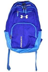 Under Armour BluePurple Backpack Youth Girls School Bag with Laptop Sleeve