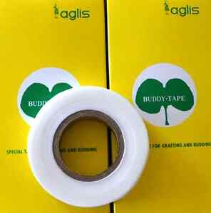 Genuine Buddy Tape for Grafting by Aglis - Made in Japan (New 50% Bigger Rolls!)