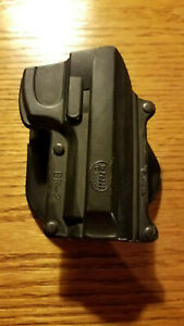 Fobus BR2 Polymer Holster. Rt. hand. For Beretta 92 96 Early model Pat. Pend.