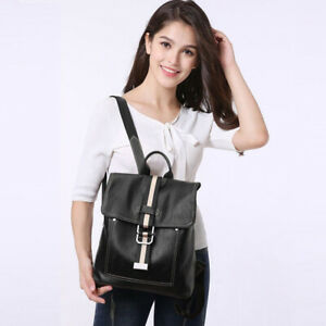 Women Handbag Shoulder Bag Leather Fashion Backpack Wild Retro Retro Style New