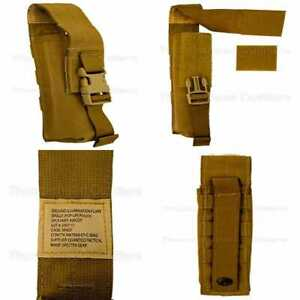 MOLLE Tactical Ground Illumination Pop Up Flare Pouch Coyote BROWN FREE SHIPPING
