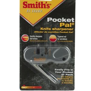 Smith's Pocket Pal Hand Knife Pull Through Sharpener AC134 Carbide Blades