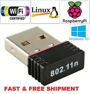 New Realtek Mini USB Wireless 802.11BGN LAN Card WiFi Network Adapter RTL8188