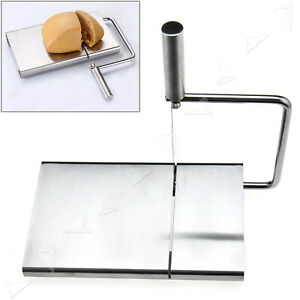 Cheese Slicer Cutter Board Stainless Steel Wire Cutting Kitchen Hand Tool Utensi