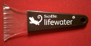 POLAR ICE SCRAPER - SOBE LIFEWATER - RIBBED GRIP HANDLE   (NEW)