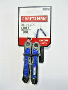 Light 10in1 Multi Tool BLUE Snip Screwdriver Craftsman