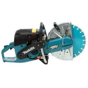 Makita 73Cc 14 In. Gas Saw Power Cutter 14 In. Diamond Blade Universal Wrench